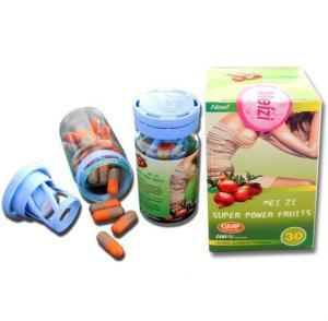 Quality Meizi Super Power Fruit , Meizi Orange & Grey Super Power Fat Loss Fruit Pills for sale