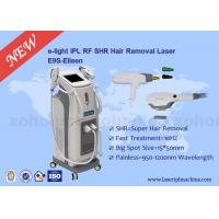 China 3 In 1 Multfunction SHR Hair Removal Machine for skin tightening , tattoo removal on sale