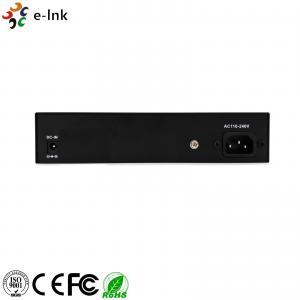 Quality 8 Port Ethernet POE Switch Managed Gigabit Auto Sensing 24V 48V Layer 2 for sale
