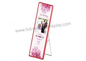China HD P6 Light Weight LED Poster Display AC 110V -240V For Reception / Store Decoration on sale