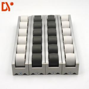 40*33 Aluminium Alloy Flow Rail PP Plastic Roller Track Durable For