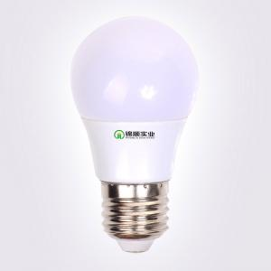 China E27 5WLed Bulb A55 Global light Plastic with aluminum holder on sale