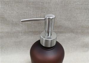 China Recyclable Pump Tops For Bottles , Ribbed Closure Lotion Soap Dispenser Pumps on sale