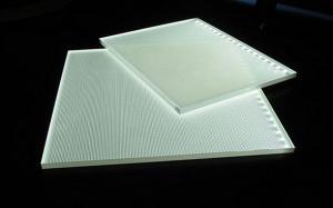 China Power Efficient Exterior LED Edge Lit Light Box Acrylic Panel Engraving Machine on sale