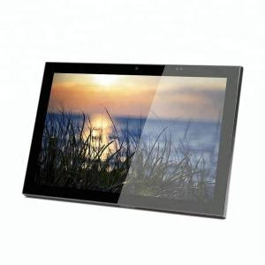 China Customized 13.56MHz Card Reader Android OS 10 Inch Wall Mount Touch Screen Power by PoE on sale