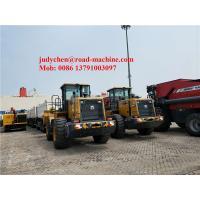 Weichai Engine XCMG Wheel Loader , Loading 3m3 5000kgs Bucket Volume