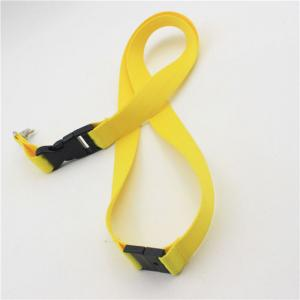 China yellow Retractable Safety Lanyard Leash Retractable Tool Lanyard on sale