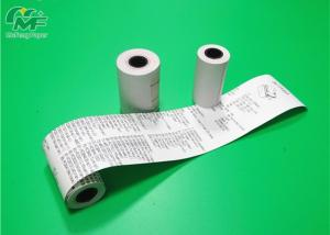 China SGS Approval Thermal Paper Rolls 2 Times Coating For Cash Register Pos / ATM Machine on sale