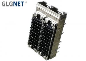 China EMI Tabs SFP Cage Assembly Press Fit Mounting For Data / Communications on sale