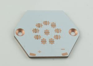 China Iron Alloy High Thermal Conductivity PCB Copper Base 400W , White or Customized on sale