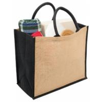 Sell reusable jute shopping bags can be recycled sacks