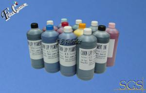 China Dye based inks for Canon Image Prograf IPF 6300 wide format printer ink 12color on sale