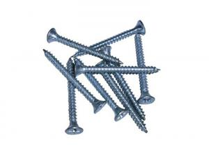 China Chipboard And Drywall Self Drilling Screws / Flat Head Self Tapping Screws on sale
