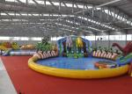 China Giant Outdoor Play Equipment Amazing Inflatable Water Park For Kids wholesale