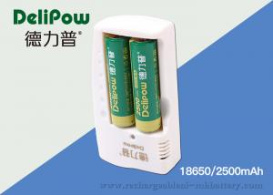 China 1200 Times Rechargeable Batteries Lithium With Long Cycle Times 2500mAh  on sale
