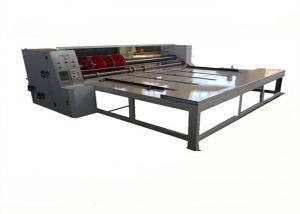 China Manual Carton Box Rotary Slotter Machine / Corrugated Slotting Cutting Corner Creasing Machine on sale