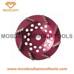 6 Inch 150mm Cup Grinding Disc with 8 Zigzag Wave Diamond Segments
