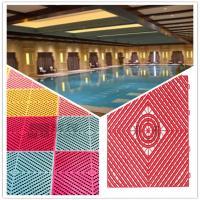 3W Pool/Bathroom/Washing Room/Kitchen Plastic Interlocking Maze Leak Grid Flooring Factory
