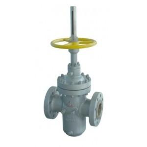 China Slab Flat Cast Steel Gate Valve For Petroleum Natural Gas ( Through Conduit ) on sale