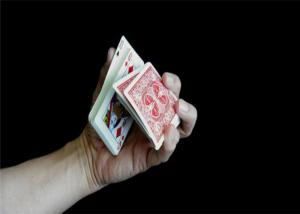 China Skillful Double Backer Card Tech , Magic Trick Playing Cards on sale