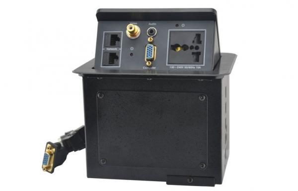 USB Electrical Socket Conference Table Desktop Connection Box For - Conference table electrical sockets