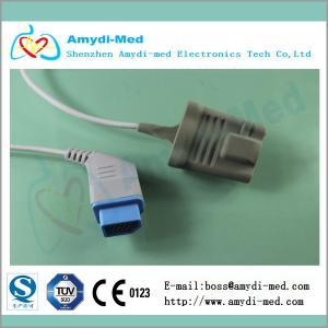 China Sensor de Nihon Kohden Spo2, cable del sensor del oxímetro del pulso para el adulto on sale