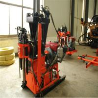 China Changtan Borehole Drilling Machine 200m Drilling Rig Equipment With Electric Motor on sale