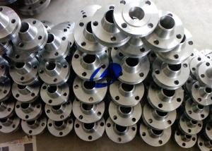 China ASTM B 16.5 titanium GR2 flange of WN with BW connect for instrial use on sale