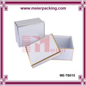 Garment Storage Box, Delicate Custom Paper Hat Box ME TB015
