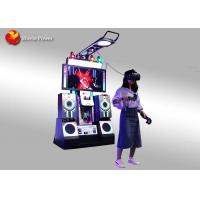Amusement Park Virtual Reality Simulator Htc 9D Musical Instruments Video Games