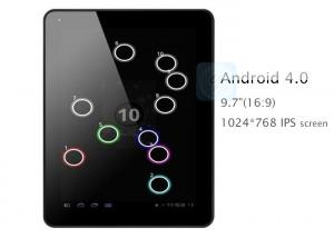 China 9.7 inch Capacitive Touch Screen Google Android Touchpad Tablet PC on sale
