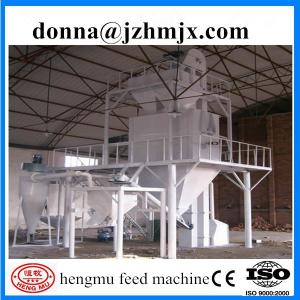 China Smooth rotation best technical small extruding fish feed pellet productio line on sale