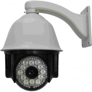 China 1/4 SONY CCD IR Dome Camera 540TVL With LED , IR 150m , RS-485 on sale