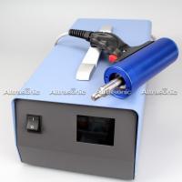 60Khz 500w 110V Ultrasonic Riveting Welder / Hand Held Spot Welding Machine