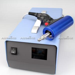 China 60Khz 500w 110V Ultrasonic Riveting Welder / Hand Held Spot Welding Machine on sale