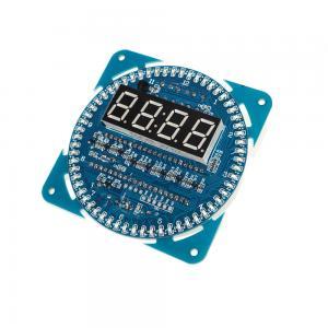 China 5V DS1302 FR4 Temperature Sensor LED Display  digital Tube Alarm Clock on sale