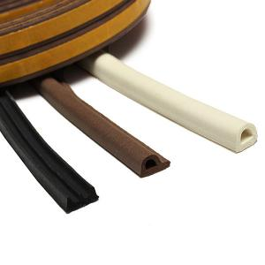 self adhesive rubber strip door seals sponge foam EPDM rubber extrusions E/P/D shaped section  sc 1 st  automotive rubber seals - EveryChina & self adhesive rubber strip door seals sponge foam EPDM rubber ... pezcame.com