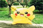 Algodão dos Pp que enche o coxim macio do descanso do brinquedo, descanso de Pikachu do gigante do luxuoso