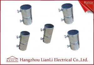 China Electro Galvanized Gi Conduit Pipe Screwless Coupler Electrical Conduits And Fittings on sale