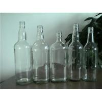 China Glass rum bottle on sale