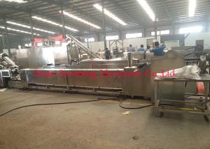 China Stainless Steel Instant Noodle Production Line With Continuous Fryer Machine on sale