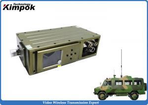 China UGV High-speed Wireless Video Transmitter Super Low Latency COFDM Video Sender NLOS on sale