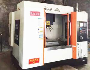 China High Efficiency 3 Axis CNC Machining Center Optimum Finishing Surface on sale