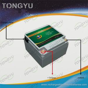 China Solar Air Conditioning 12V LiFePO4 Battery30Ah For Portable Power Back - Up Systems on sale