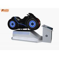 China 32 HD Screen VR Motorcycle Simulator Dynamic Wheel Design 360° Panoramic View on sale
