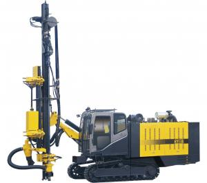 China High Pressure Hard Rock Drilling Machine , Dth Drilling Rig 105-125mm on sale