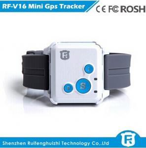 China Sos button gps bracelet personal tracker for prisoner senior cell phone reachfar rf-v16 on sale