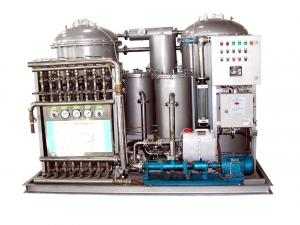 China 2.5 kW Marine Oily Water Separator System 5 m3/h With Screw Pump on sale