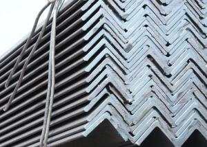 China Equal Hot Rolled Angle Steel Q235 Carbon Steel Material 100 * 10mm / 50 * 5mm on sale