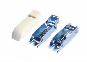 China Self Balance Fridge Freezer Door Hinges Zinc Surface Treatment And ABS Cover on sale